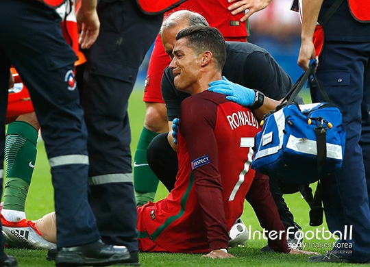Image result for Abidal: Ronaldo injury gave Portugal an advantage in Euro final